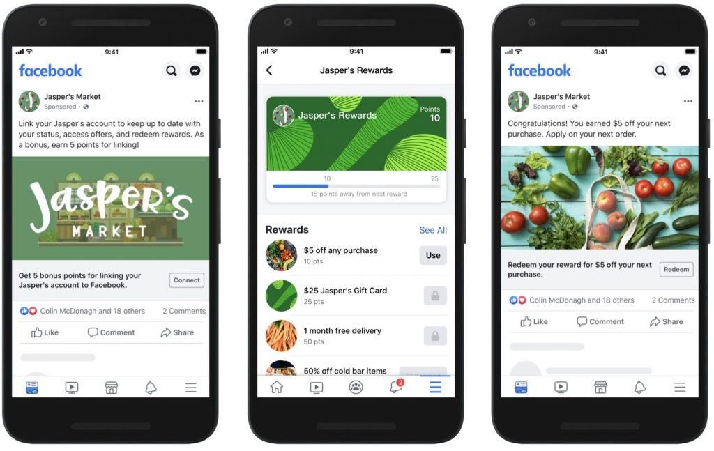 Loyaliteitsprogrammas met Facebook Shops
