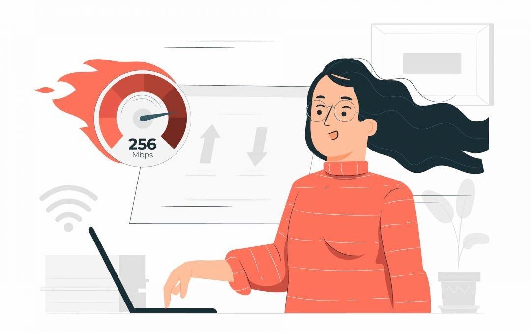 Heeft internetsnelheid effect op je pagespeed score?